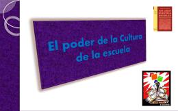 El poder de la Cultura de la escuela - Gestionescolar