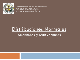 distribución normal bivariada