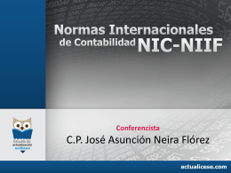 NIC36 Deterioro de Activos