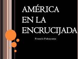 américa en la encrucijada - Política Internacional Contemporánea