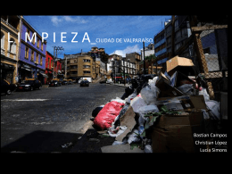 Limpieza de la Ciudad