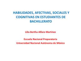 ponencia 1 habilidades sociales, afectivas y cognitivas en