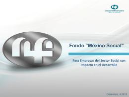 A. Fondo - Sedesol