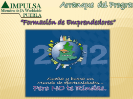 Arranque-del-Program.. - IMPULSA Puebla Tlaxcala