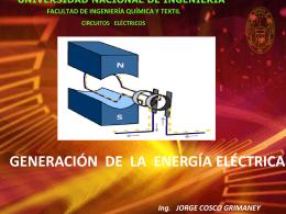 generación eléctrica - Ing. Jorge Cosco Grimaney