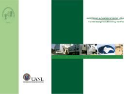 Diapositiva 1 - Facultad de Ingeniería Mecánica y Eléctrica