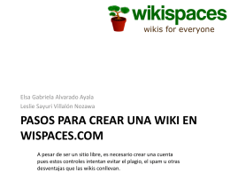 como hacer una wiki - fishingwikis