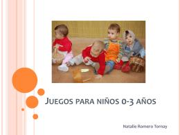 Juegos para niños 0-3 años - Recursos didácticos para la