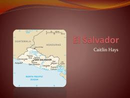 El Salvador Presentacion - Imagina-en