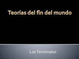 Diapositiva 1 - losterminator