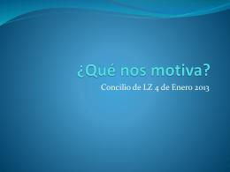 Qué nos motiva? - La Misión Chile Rancagua