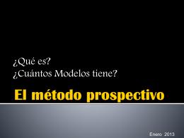 5.- El Método Prospectivo