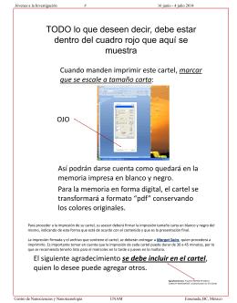 formato para cartel - CNyN