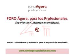 Soluciones y servicios para los Profesionales.