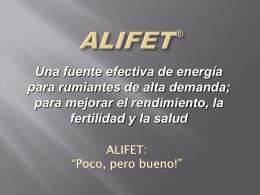 Alifet - Sintofarm Caribe Ltda.