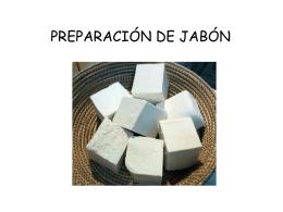 PREPARACIÓN DE JABÓN