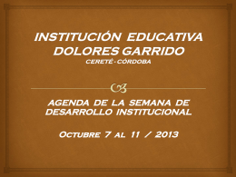 institución educativa dolores garrido cereté