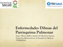 Enfermedades Difusas del Parénquima Pulmonar