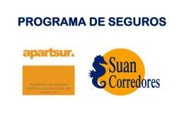 PROGRAMA SEGUROS APARTSUR