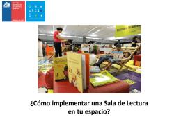 Qué es una Sala de Lectura?