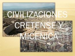 Civilización MICENICA