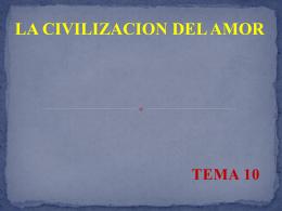 La civilización del amor