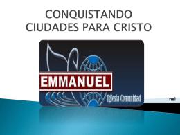 Las fortalezas espirituales - Iglesia Comunidad Emmanuel