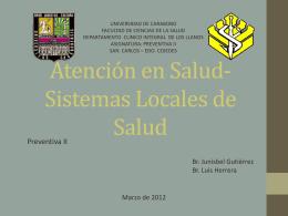 Sistemas Locales de Salud