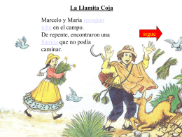 La Llamita Coja
