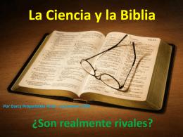La Ciencia y la Biblia – DARCY