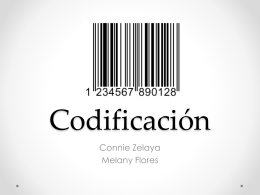 presentacion sobre Codificación