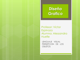 Profesor: Víctor Espinoza Alumna: Alessandra Huefle