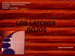 diapositivas laton rojo