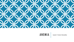 Anemia - THER 2020