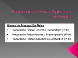 Preparacion Fisica Aplicada al Karate