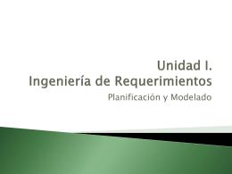 Documentación Planificación y Modelado