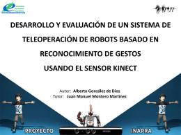 Presentacion PFC - Alberto Gonzalez de Dios