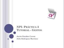 NPI - Nuevos Paradigmas de Interacción