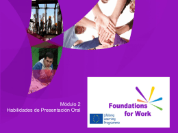 Foundations For Work