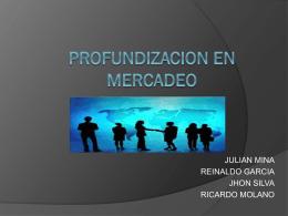 TALLER PROFUNDIZACION EN MERCADEO