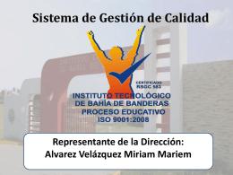 Presentación del SGC - Instituto Tecnológico de Bahía de Banderas