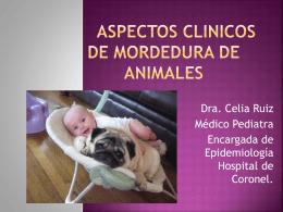 aspectos clinicos de mordedura - SEREMI de Salud Región del