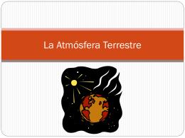 La Atmósfera Terrestre - Ciencias de la Tierra