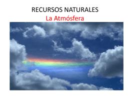 RECURSOS NATURALES La Atmósfera