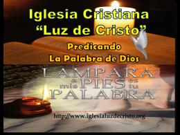 Predica_Dominical_Saetas - Iglesia Cristiana Luz de Cristo