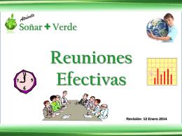 Reuniones Efectivas (Rev. 2014-01-12)