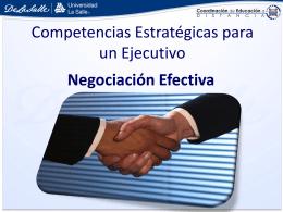 Que es la negociación efectiva? - Educación a Distancia