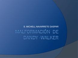 Síndrome de Dandy Walker - Carpe Diem – Cogito ergo sum