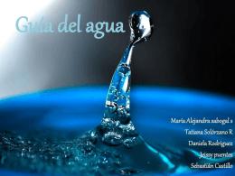 Guía del agua