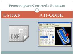 Aprenderás a Convertir un Archivo DWG a DXF.